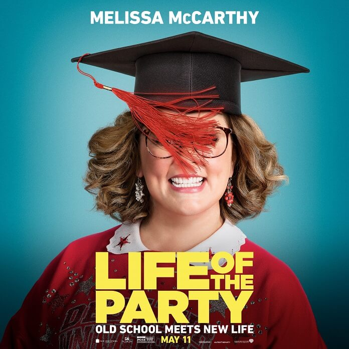 Trailer Arrives For Melissa McCarthy Film Life of the Party
