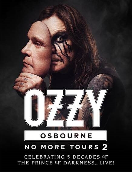 Ozzy Osbourne No More Tours 2