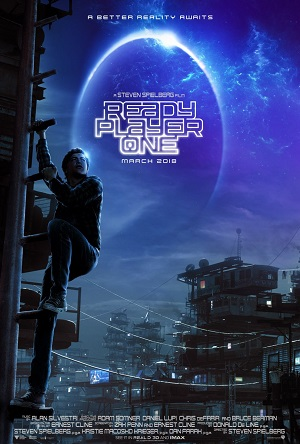 Ready Player One Long Legged Poster