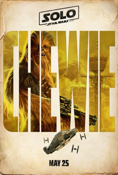 Solo: A Star Wars Story Chewbacca Poster
