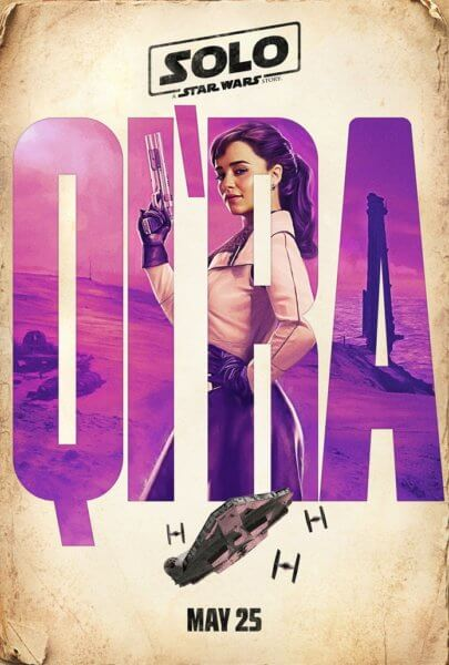 Solo: A Star Wars Story Qi'ra Poster