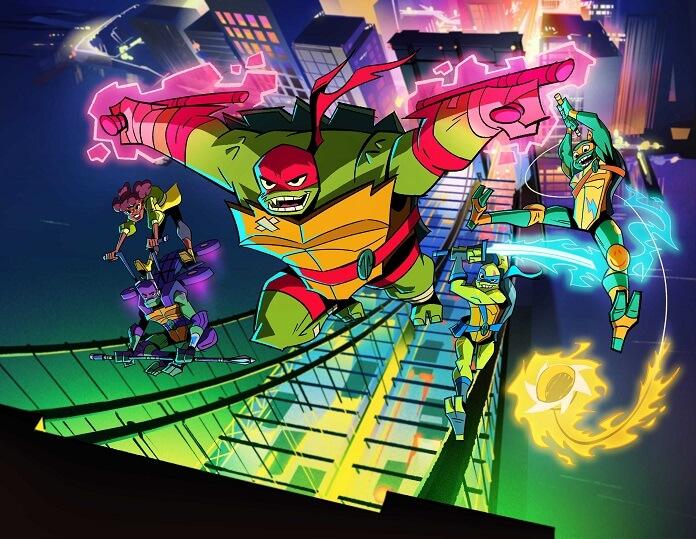Rise of the Teenage Mutant Ninja Turtles First Photo