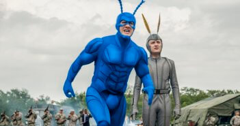 The Tick Peter Serafinowicz and Griffin Newman Interview