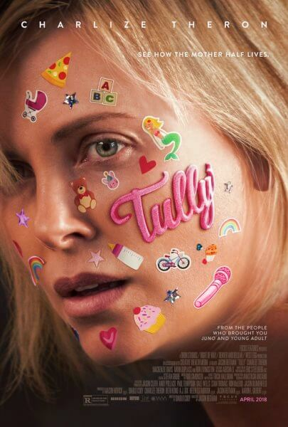 Tully Movie Poster with Charlize Theron