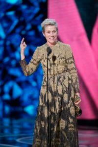 Frances McDormand 2018 Oscars