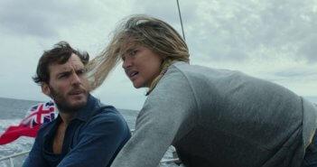Adrift stars Shailene Woodley and Sam Claflin