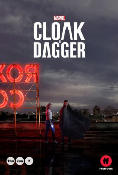 Marvel's Cloak and Dagger Poster