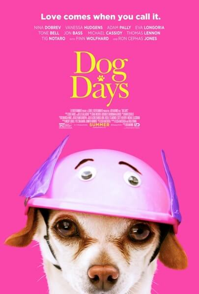 Dog Days Gertrude Poster