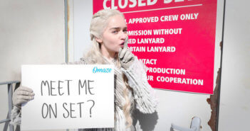Game of Thrones Set Visit with Emilia Clarke