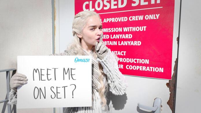 Game of Thrones Set Visit with Emilia Clarke