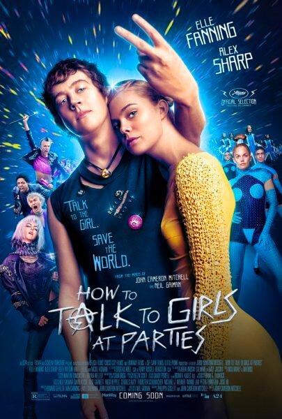 How to Talk to Girls at Parties Poster and Trailer