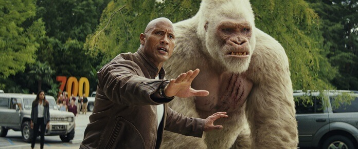 Rampage Review Dwayne Johnson