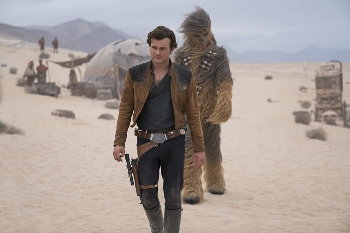 Solo: A Star Wars Story Han and Chewbacca