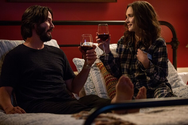 Keanu Reeves and Winona Ryder are adorably awkward in Destination Wedding trailer