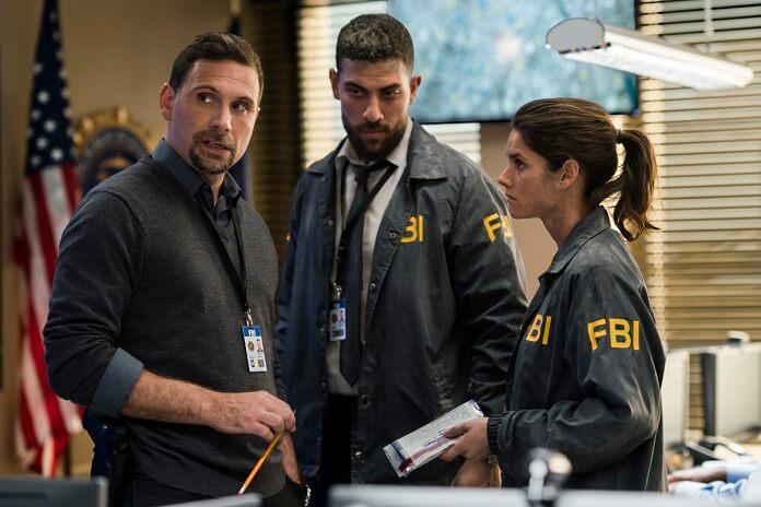 FBI TV Series star Missy Peregrym, Jeremy Sisto,