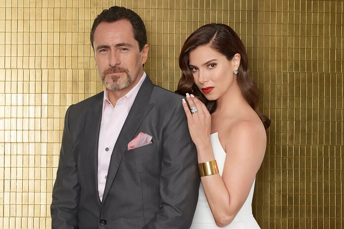 Grand Hotel Stars Roselyn Sanchez and Demian Bichir