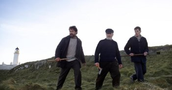 Keepers Cast Gerard Butler, Peter Mullan and Connor Swindells