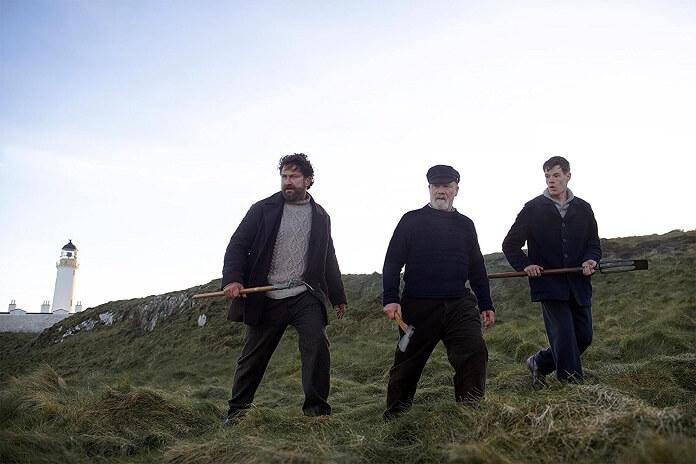 Keepers Cast Gerard Butler, Peter Mullan and Connor Swindells