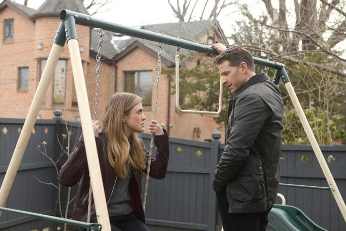 Manifest Season 1 Episode 1 Melissa Roxburgh and Josh Dallas