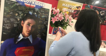 Margot Kidder Memorial at Motor City Comic Con