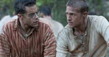 Papillon Charlie Hunnam and Rami Malek