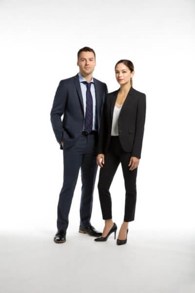 Burden of Truth Peter Mooney and Kristin Kreuk