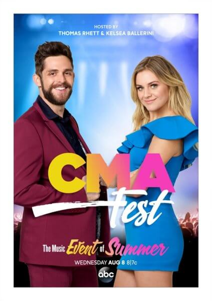 CMA Fest Hosts Kelsea Ballerini and Thomas Rhett