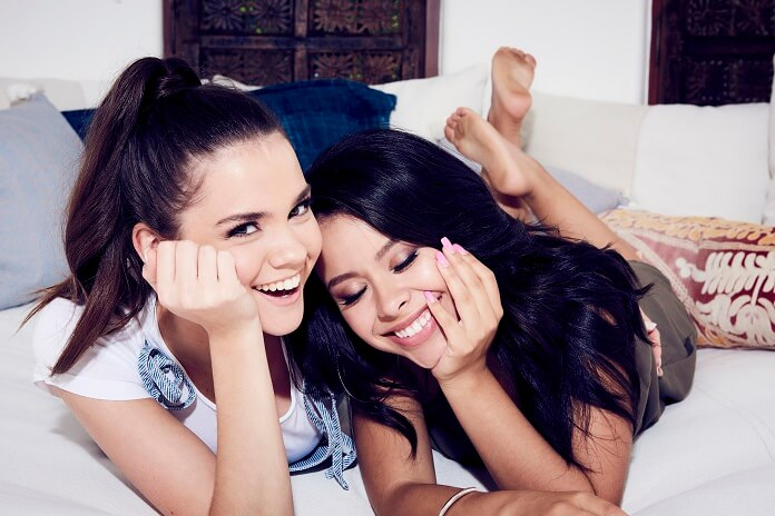 Good Trouble stars Maia Mitchell and Cierra Ramirez