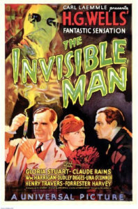 Invisible Man Poster with Claude Rains