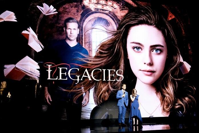 Legacies stars Matt Davis and Danielle Rose Russell