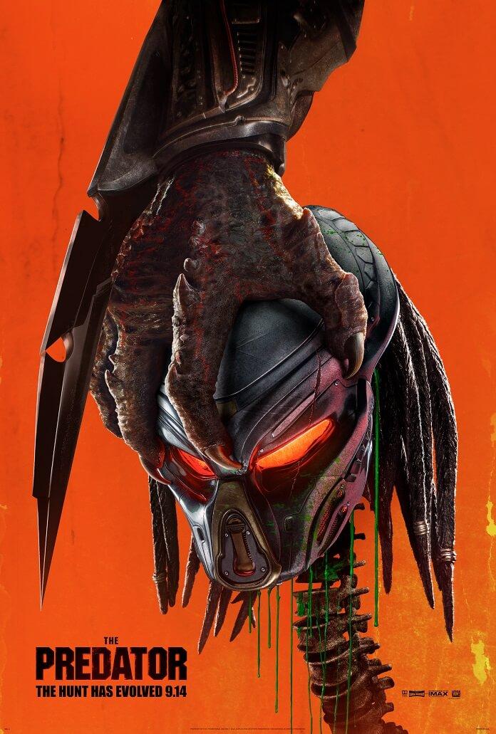Hitman Movie Poster The Predator Red Band ...