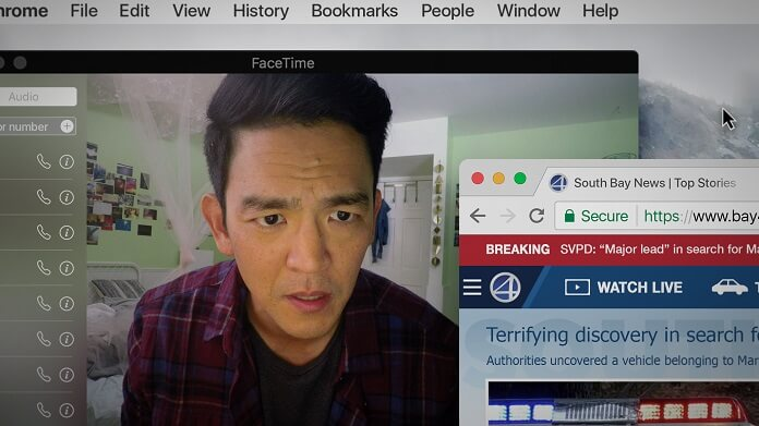 Searching star John Cho