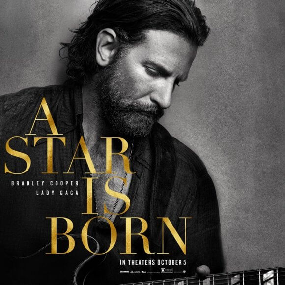 A Star is Born Bradley Cooper Poster