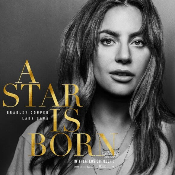 A Star is Born Lady Gaga Poster