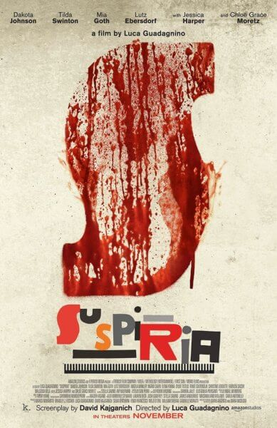 Suspiria Teaser Poster