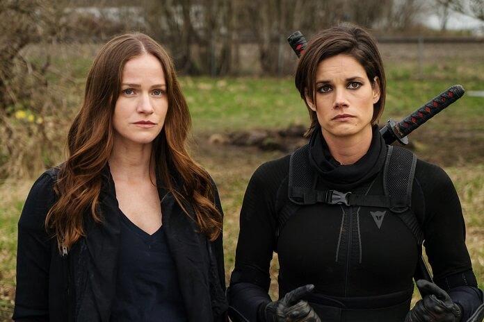 Van Helsing season 2 Kelly Overton and Missy Peregrym