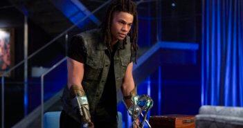 Black Lightning cast member Jordan Calloway