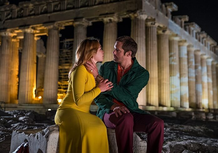 The Little Drummer Girl stars Alexander Skarsgard and Florence Pugh