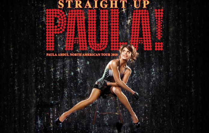 Paula Abdul Straight Up Paula! Tour