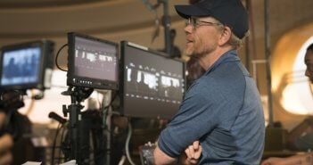 Ron Howard on the set of Solo: A Star Wars Story