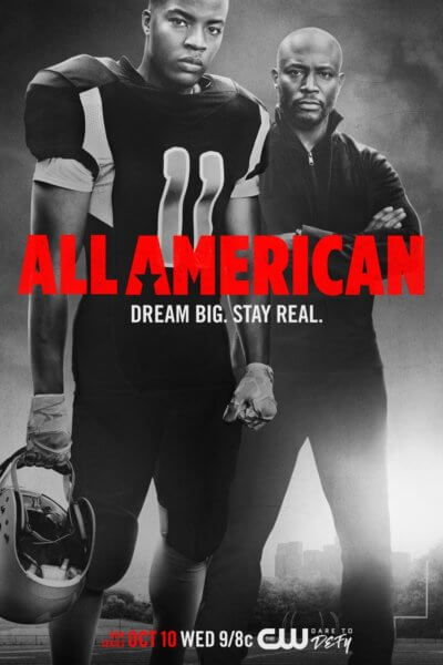 All American TV Show Poster
