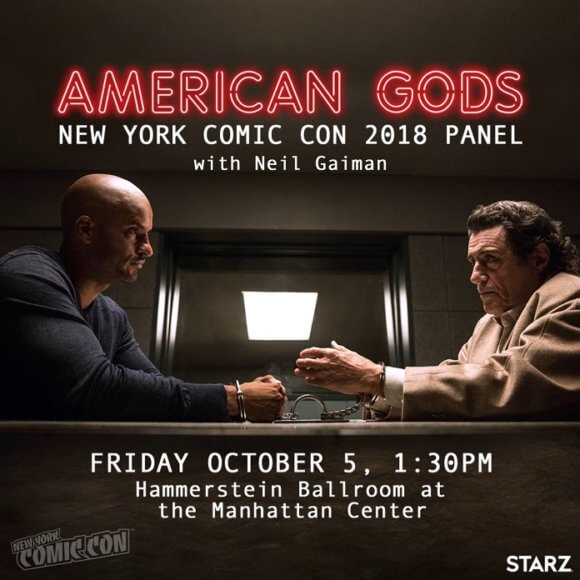 American Gods New York Comic Con