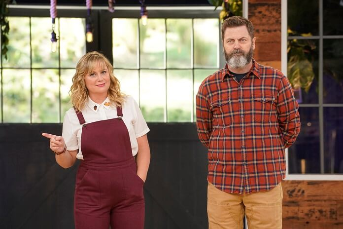 39 making it 39 with amy poehler and nick offerman renewed for season 2. Black Bedroom Furniture Sets. Home Design Ideas