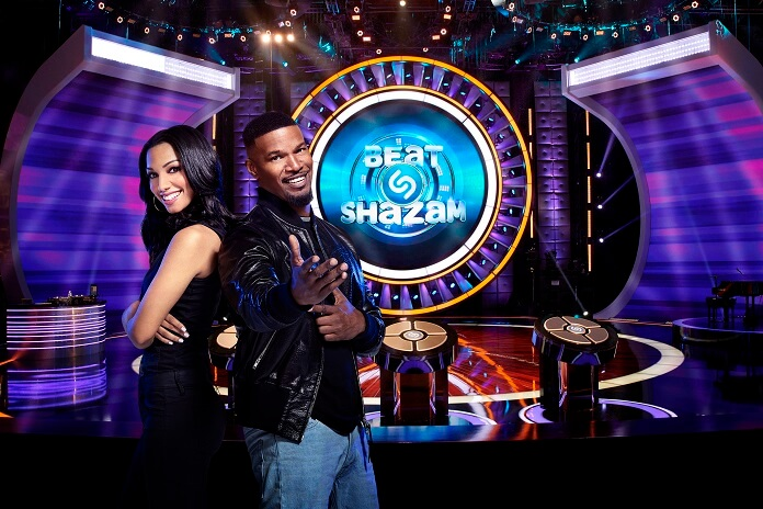 Beat Shazam Jamie Foxx and Corinne Foxx