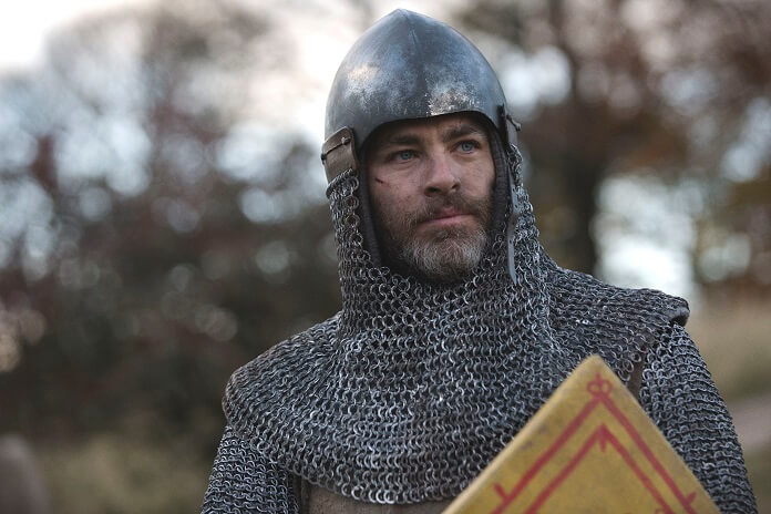 Outlaw King star Chris Pine