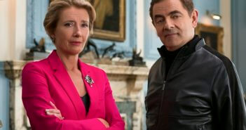 Johnny English Strikes Again Rowan Atkinson and Emma Thompson