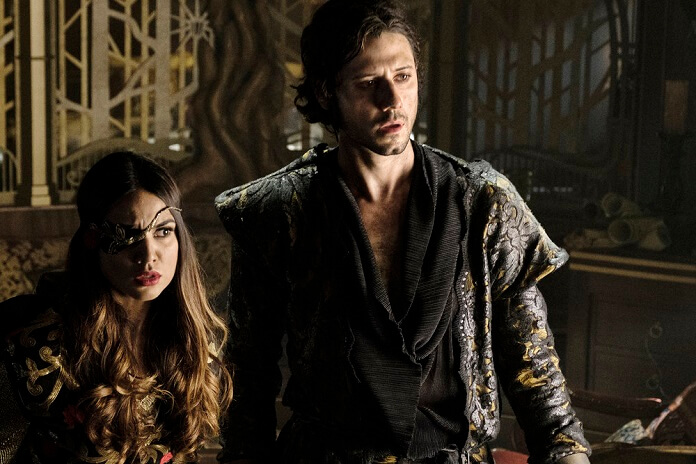 The Magicians stars Hale Appleman and Summer Bishil