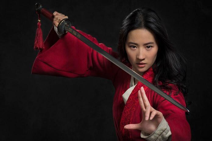 Mulan star Liu Yifei