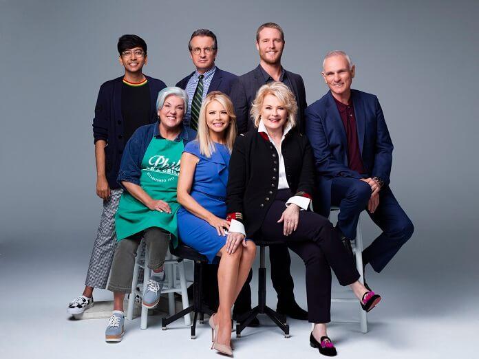 Murphy Brown Candice Bergen and Cast