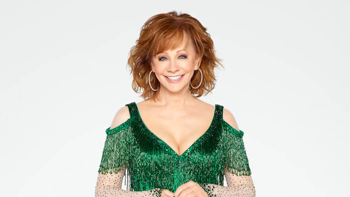 CMA Country Christmas host Reba McEntire